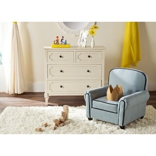 Safavieh Kids Tiny Tycoon Blue Childrens Club Chair