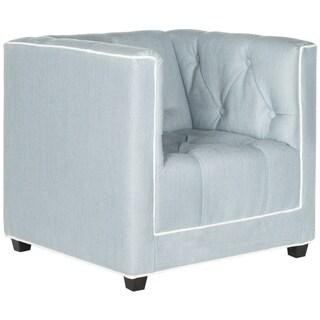 Safavieh Kids Little Decorator Blue and White Childrens Club Chair