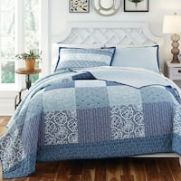 KD Spain Horizon 3-piece Cotton Quilt Set