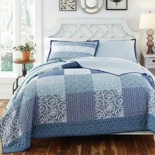 KD Spain Horizon 3-piece Cotton Quilt Set