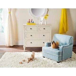 Safavieh Kids Moppett Blue and White Childrens Club Chair