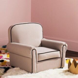 Safavieh Kids Tiny Tycoon Taupe Childrens Club Chair