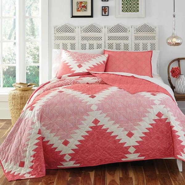 KD Spain Kaleo 3-piece Cotton Quilt Set