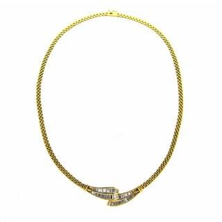 Kabella 18k Yellow Gold 2 3/8ct TDW Diamond Neckalce (G-H, SI1-SI2)