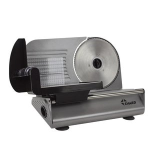 Chard FSOP150 7.5-Inch Electric Food Slicer, Stainless Steel