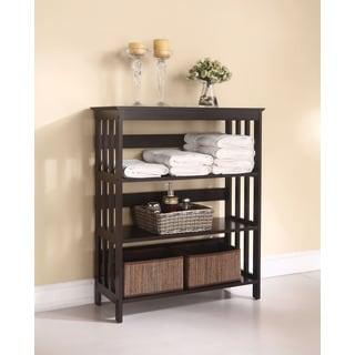 Opeli Bathroom Rack, Espresso