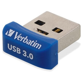 Verbatim 16GB Store 'n' Stay Nano USB 3.0 Flash Drive - Blue - TAA Co