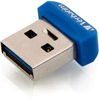 Verbatim 32GB Store 'n' Stay Nano USB 3.0 Flash Drive - Blue - TAA Co