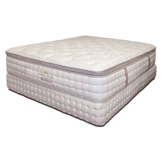 Furniture of America King Coil 15-inch King-size Euro Top Gel Hybrid Mattress