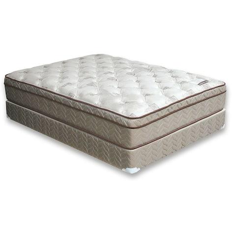 Furniture of America Nivo Contemporary Grey Twin Foam Mattress