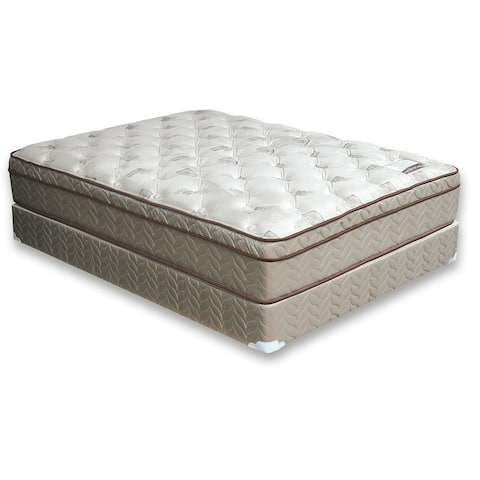 Furniture of America Nivo Contemporary Grey Cal King Euro Top Mattress