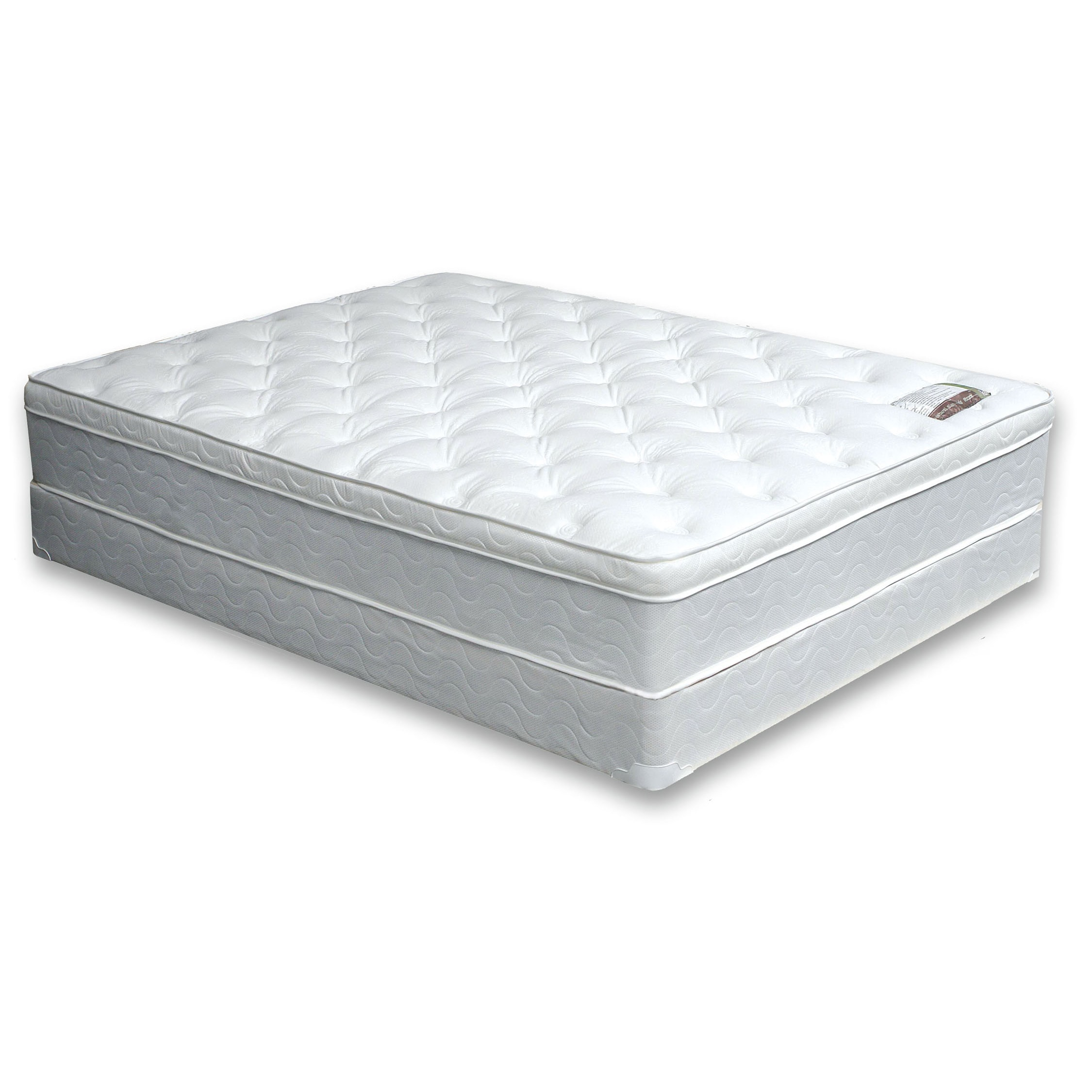 Furniture of America Dreamax 11-inch King-size Euro Top M...