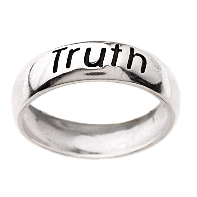 Carolina Glamour Collection Sterling Silver Truth Ring