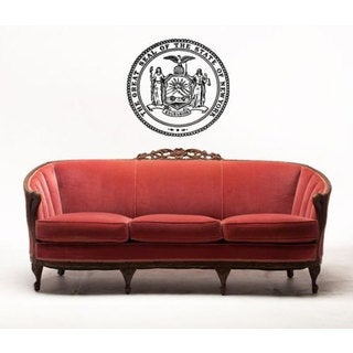 The Great Seal Of State New York Sticker Vinyl Wall Art