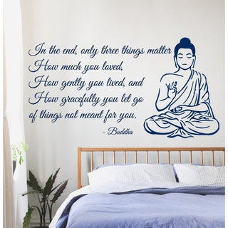Link to Buddha Quote Sticker Vinyl Wall Art Similar Items in Vinyl Wall Art