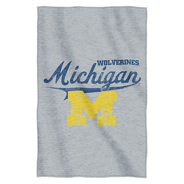 Michigan Sweatshirt Throw Blanket