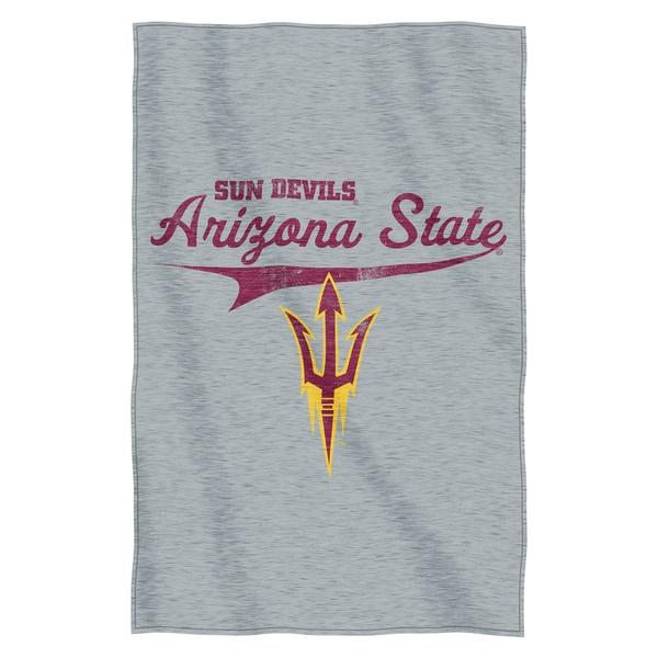 Arizona State Sweatshirt Throw Blanket
