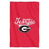Georgia Sweatshirt Throw Blanket
