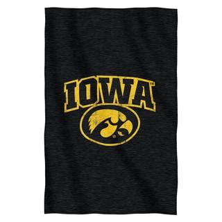 Iowa Sweatshirt Throw Blanket
