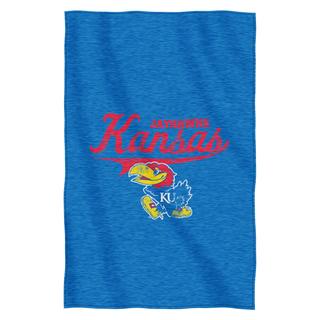 Kansas Sweatshirt Throw Blanket
