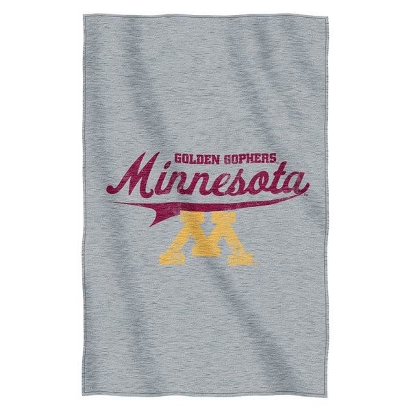 Minneosta Sweatshirt Throw Blanket
