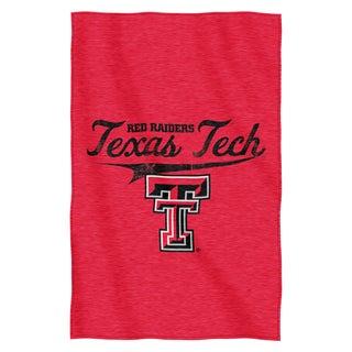 Texas Tech Sweatshirt Throw Blanket