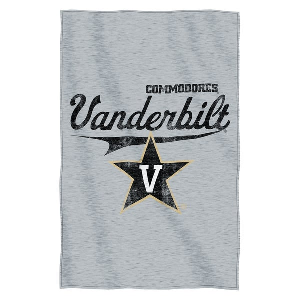 Vanderbilt Sweatshirt Throw Blanket