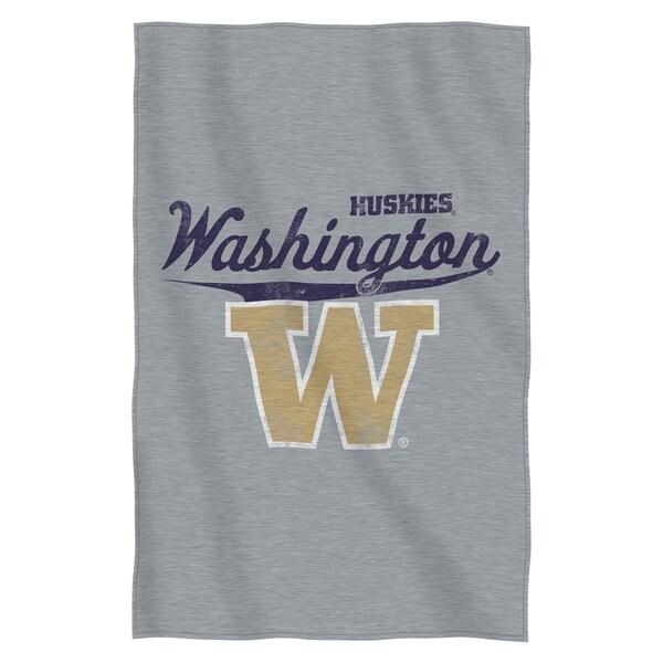 Washington Sweatshirt Throw Blanket