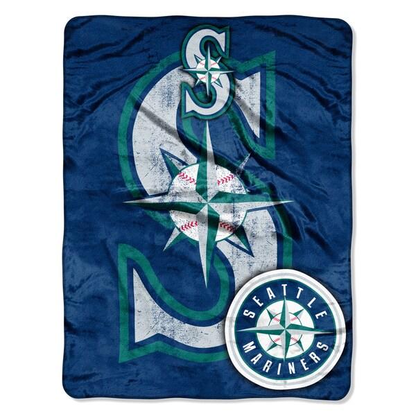 Mariners Triple Play Micro Throw Blanket