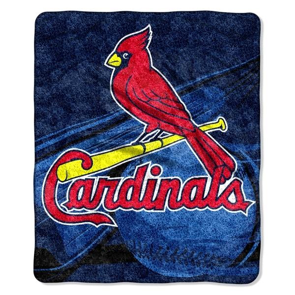 Cardinals Sherpa Throw Blanket