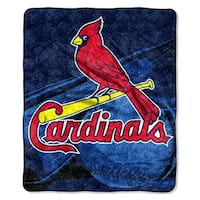 Cardinals Sherpa Throw Blanket
