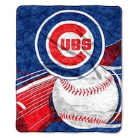 Cubs Sherpa Throw Blanket