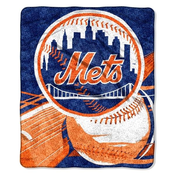 Mets Sherpa Throw Blanket