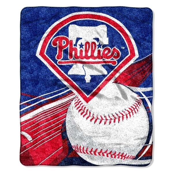 Phillies Sherpa Throw Blanket