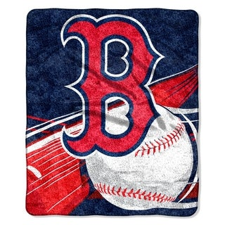 Red Sox Sherpa Throw Blanket