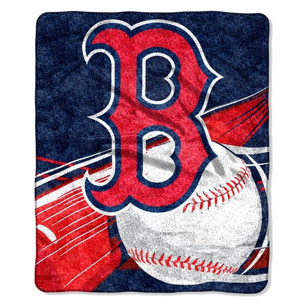 Shop Red Sox Sherpa Throw Blanket On Sale Free Shipping On Magnificent Red Sox Throw Blanket