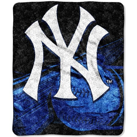 Yankees Sherpa Throw Blanket
