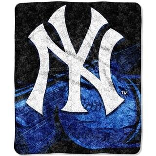 Yankees Sherpa Throw Blanket