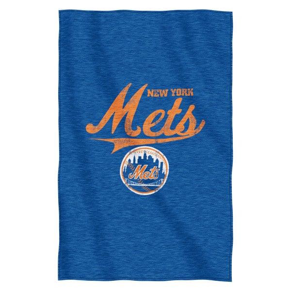 Mets Sweatshirt Throw Blanket