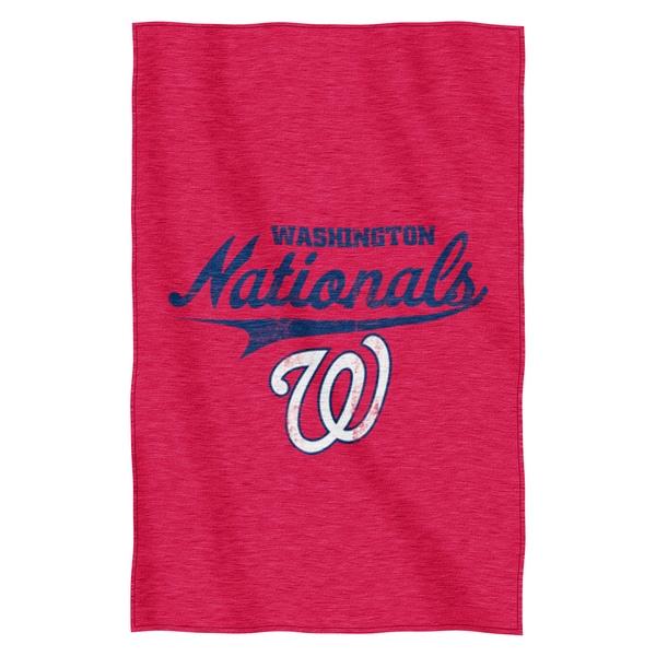 Nationals Sweatshirt Throw Blanket