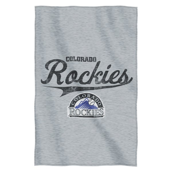 Rockies Sweatshirt Throw Blanket