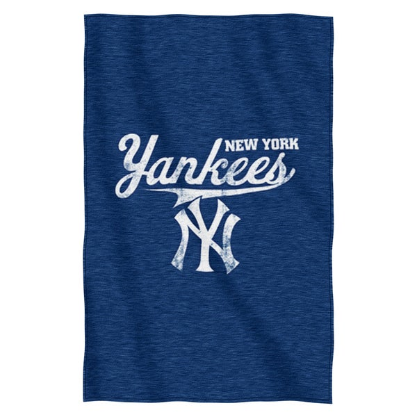 Yankees Sweatshirt Throw Blanket