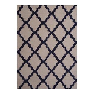 Herat Oriental Indo Hand-tufted Contemporary Rug (5' x 7')