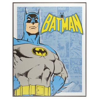 Vintage Metal Art Decorative 'Batman Retro Panels' Tin Sign