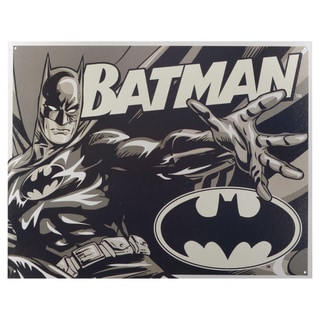 Vintage Metal Art Decorative 'Batman Duotone' Tin Sign