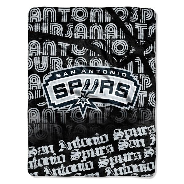 Spurs Redux Micro Throw Blanket