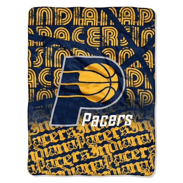 Pacers Redux Mico Throw Blanket