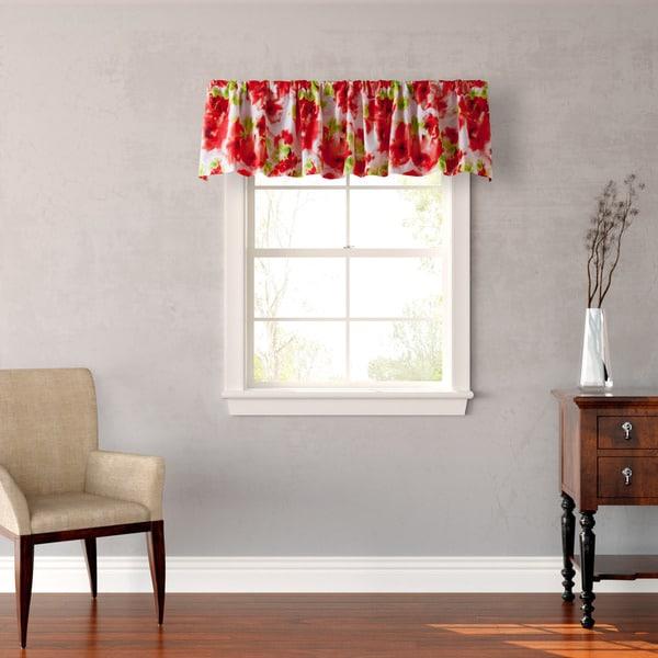 Shop Teen Vogue Painted Poppy Window Valance Free