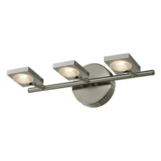 Reilly Brushed Nickel/ Brushed Aluminum 3-light Lighting Fixture