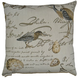 Birdsond Feather and Down Filled Decorative Throw Pillow